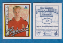 Arsenal Dennis Bergkamp Holland 18